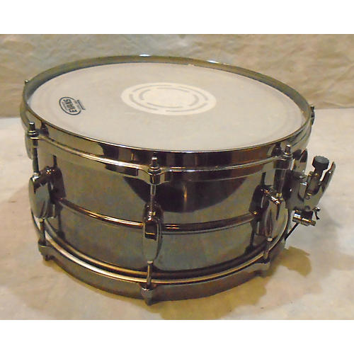 Tama 6.5X14 Silverstar Snare Drum Black nickle 15