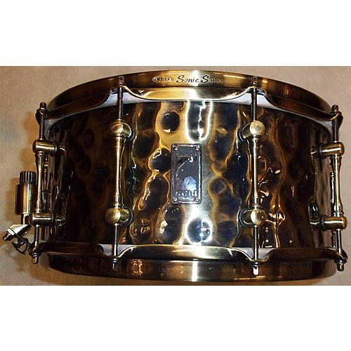 Mapex 6.5X14 Sledgehammer Black Panther Snare Drum-thumbnail