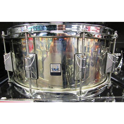 Taye Drums 6.5X14 Stainless Steel Snare Drum-thumbnail