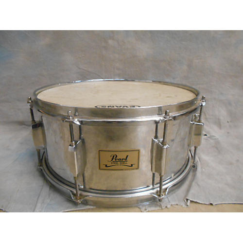 Pearl 6.5X14 Steel Shell Drum