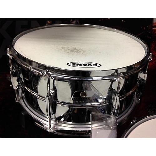 Ludwig 6.5X14 Steel Snare Drum