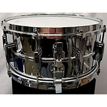 Ludwig 6.5X14 Supraphonic Snare Chrome Over Brass LB402 Drum