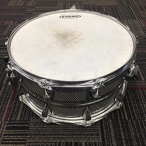 Orange County Drum & Percussion 6.5X14 Vented Drum Silver 15