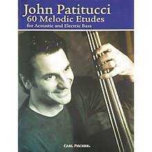 Carl Fischer 60 Melodic Etudes for Bass Book