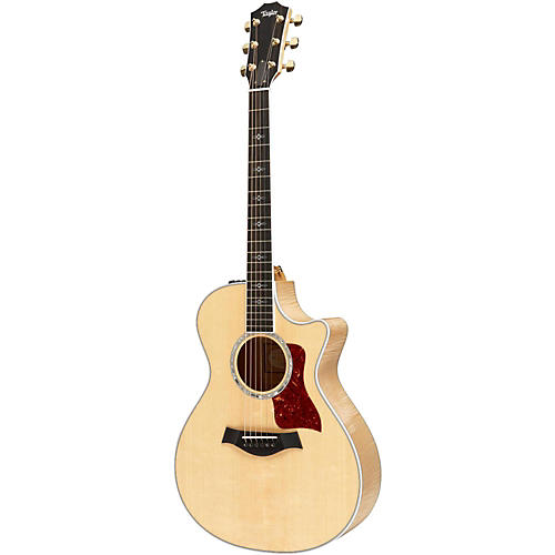 Taylor 600 Series 2014 612ce Grand Concert Acoustic-Electric Guitar-thumbnail