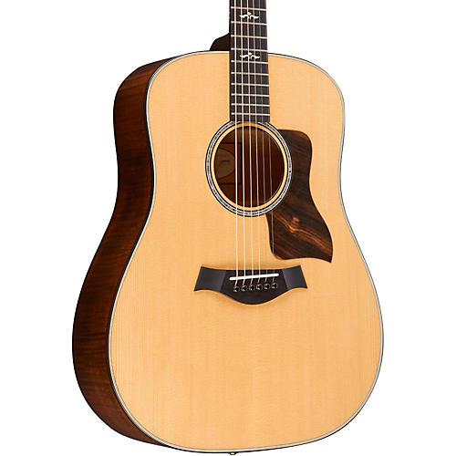 Taylor 600 Series 610 Dreadnought Acoustic Guitar Natural-thumbnail