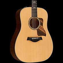 Taylor 600 Series 610e Dreadnought Acoustic-Electric Guitar Natural