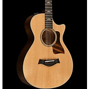Taylor 600 Series 612ce 12-Fret Grand Concert Acoustic-Electric Guitar