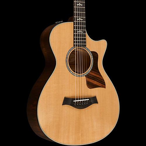 Taylor 600 Series 612ce 12-Fret Grand Concert Acoustic-Electric Guitar