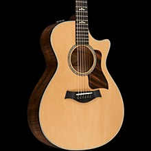 Taylor 600 Series 612ce Grand Concert Acoustic-Electric Guitar Natural