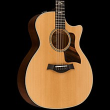 Taylor 600 Series 614ce Cutaway Grand Auditorium Acoustic-Electric Guitar Natural