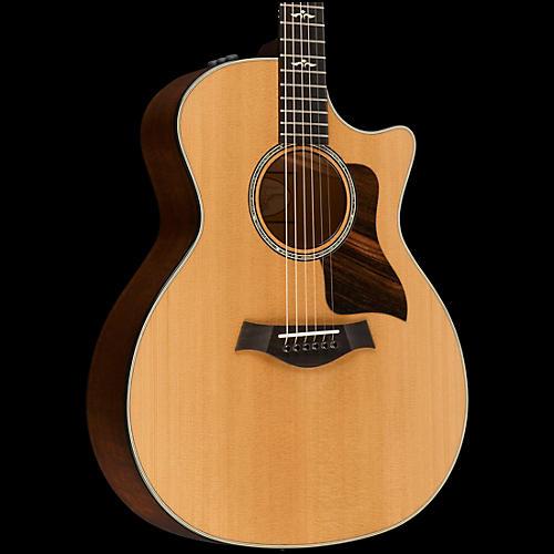 Taylor 600 Series 614ce Cutaway Grand Auditorium Acoustic-Electric Guitar Natural
