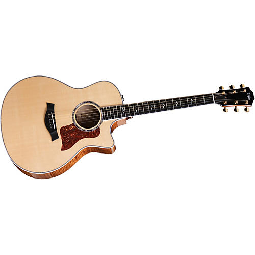 Taylor 600 Series 616ce Grand Symphony Cutaway Acoustic-Electric Guitar (2010 Model)