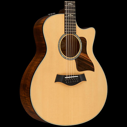 Taylor 600 Series 656ce Cutaway Grand Symphony 12-String Acoustic-Electric Guitar-thumbnail