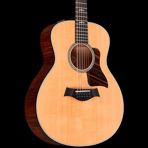 Taylor 600 Series 656e Grand Symphony 12-String Acoustic-Electric Guitar-thumbnail