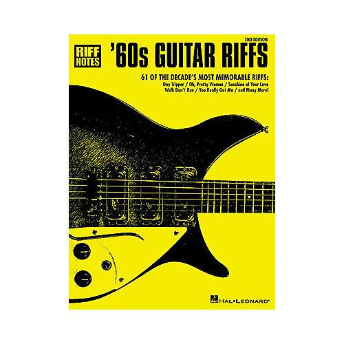 Hal Leonard '60s Guitar Riffs - 2nd Edition Book-thumbnail