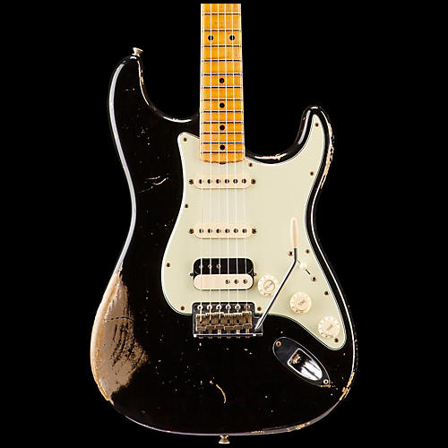 Fender Custom Shop '60s Imperial Arc Stratocaster Maple Fingerboard HSS Masterbuilt by Dale Wilson-thumbnail