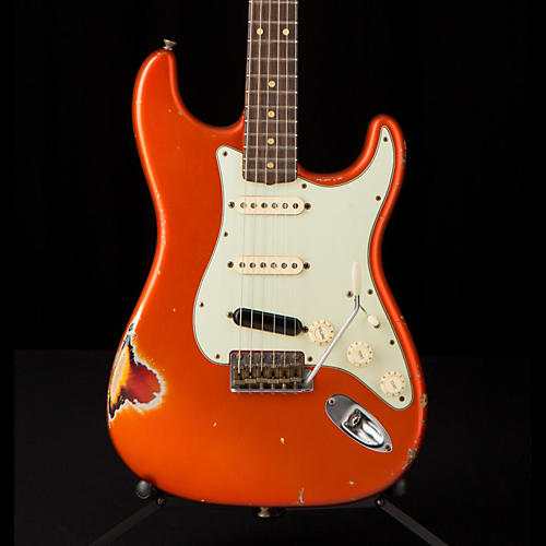Fender Custom Shop '60s Imperial Arc Stratocaster Rosewood Fingerboard SSS Masterbuilt by Paul Waller Electric Guitar-thumbnail
