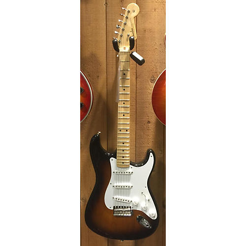 Fender 60th Anniversary 1954 American Vintage Stratocaster Solid Body Electric Guitar-thumbnail