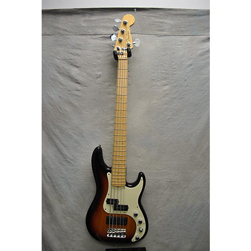 Fender 60th Anniversary American Deluxe Precision Bass V Electric Bass Guitar-thumbnail