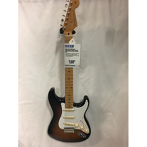 Fender 60th Anniversary Classic Player 1950s Stratocaster Solid Body Electric Guitar-thumbnail