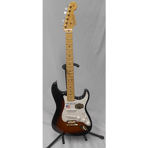 used fender 60th anniversary commemorative american standard stratocaster solid body electric. Black Bedroom Furniture Sets. Home Design Ideas
