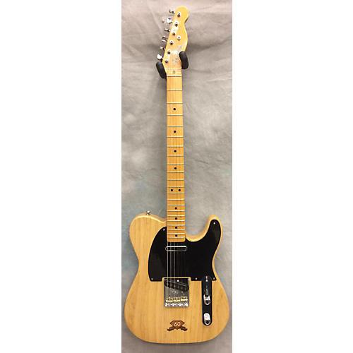 Fender 60th Anniversary Commemorative Diamond Telecaster 866/1000 Solid Body Electric Guitar Natural