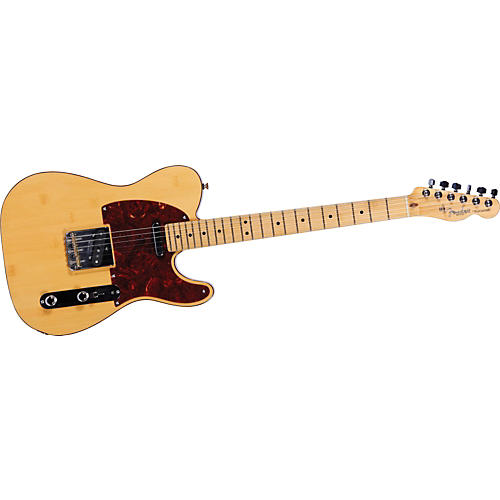 Fender 60th Anniversary Lamboo Telecaster Electric Guitar Natural
