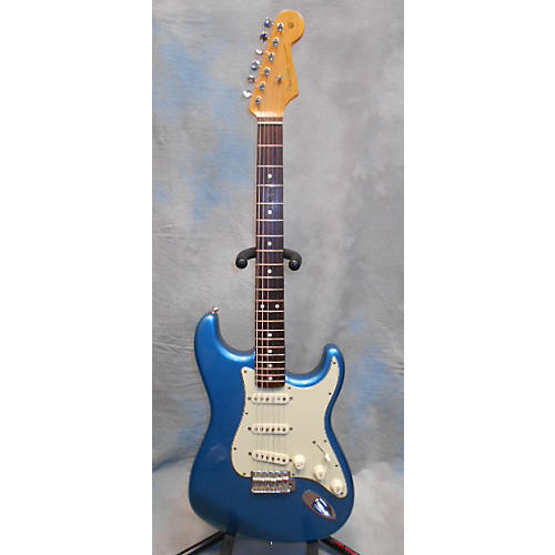 Fender 60th Anniversary Stratocaster Blue Solid Body Electric Guitar
