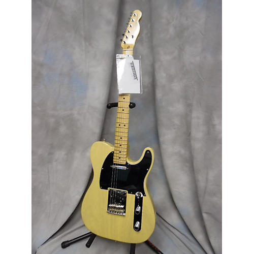 Fender 60th Anniversary Telecaster Blonde Solid Body Electric Guitar-thumbnail