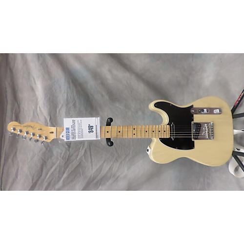 Fender 60th Anniversary Telecaster Trans Blonde Solid Body Electric Guitar-thumbnail