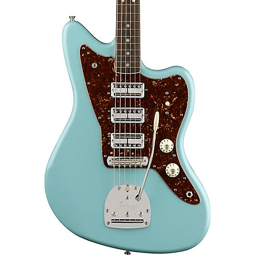 fender 60th anniversary triple jazzmaster electric guitar daphne blue guitar center. Black Bedroom Furniture Sets. Home Design Ideas