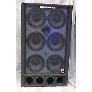 Pre-owned Genz Benz 610T-XB2 Bass Cabinet by Genz Benz