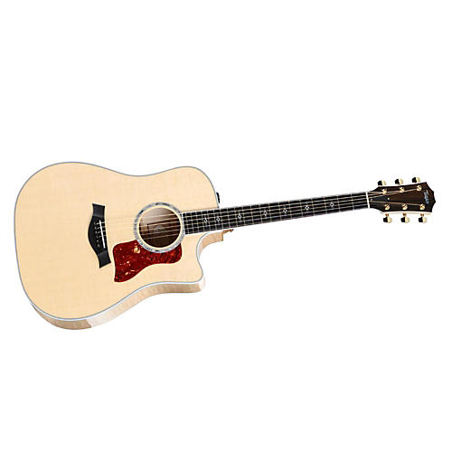 Taylor 610ce Maple/Spruce Dreadnought Acoustic-Electric Guitar