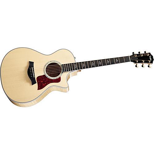 Taylor 612ce Grand Concert Cutaway Acoustic-Electric Guitar (2010 Model)