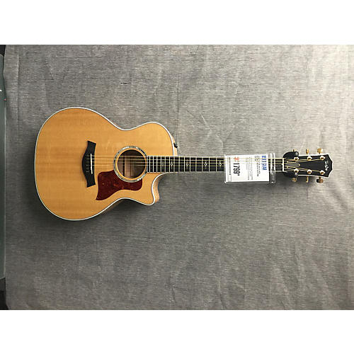Taylor 614CE Natural Acoustic Electric Guitar