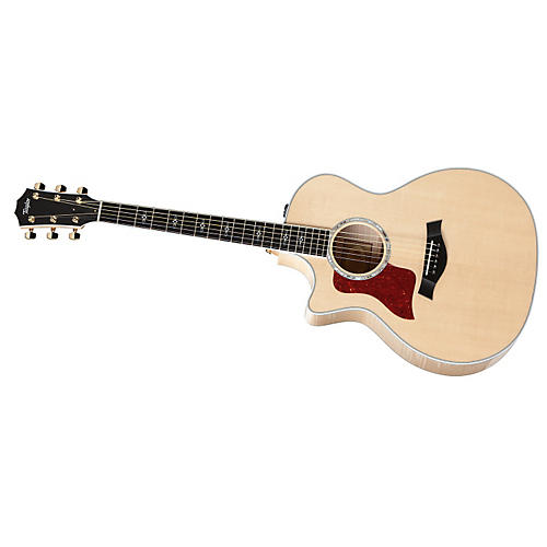 Taylor 614ce-L Maple/Spruce Grand Auditorium Left-Handed Acoustic-Electric Guitar