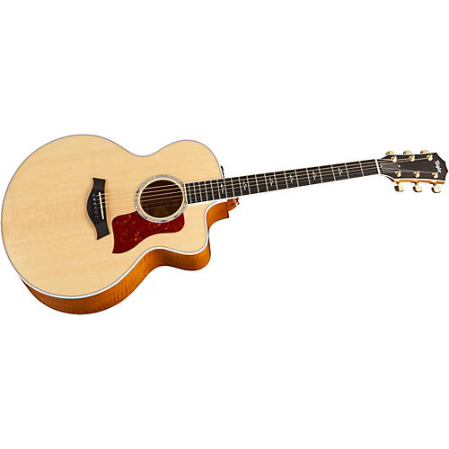 Taylor 615-CE Jumbo Cutaway Acoustic-Electric Guitar (2010 Model) Natural