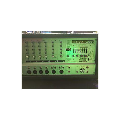 Phonic 620 PA HEAD Powered Mixer