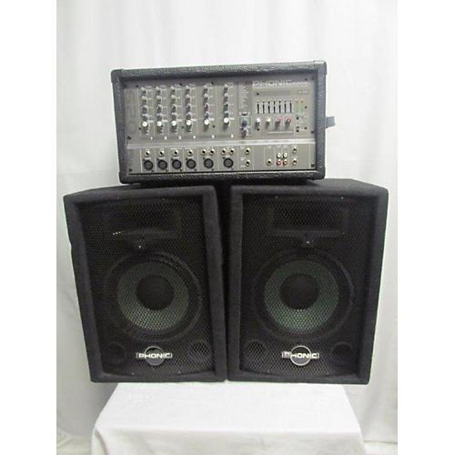 Phonic 620 Plus T1 Sound Package