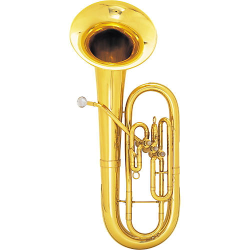 King 625 / 627 Diplomat Series Bb Baritone Horn 625SP Silver Bell Front