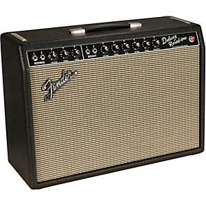 Fender '64 Custom Deluxe Reverb 20 Watt 1x12 Tube Guitar Combo Amp