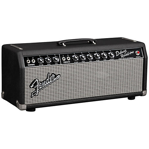 Fender '65 Deluxe Reverb 22W Tube Guitar Amp Head Black