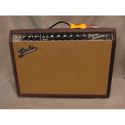 Fender '65 Deluxe Reverb Limited Edition Tube Guitar Combo Amp-thumbnail