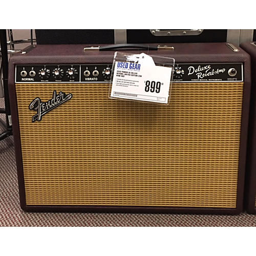 Fender 65 Deluxe Reverb Special Edition 22w Wine Red Tube Guitar Combo Amp