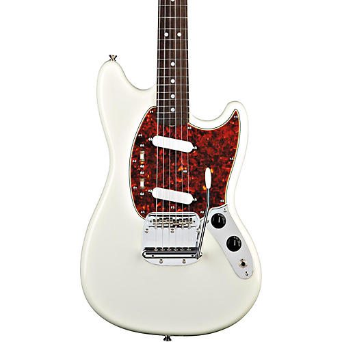 39 65 mustang reissue electric guitar olympic white guitar center. Black Bedroom Furniture Sets. Home Design Ideas