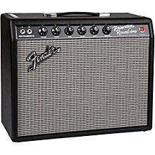 Fender 65 Princeton Reverb 15W 1x10 Tube Guitar Combo Amp Level 1 Black