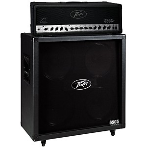 Peavey 6505+ 120 Watt Guitar Head with 6505 4x12 300 Watt Cabinet