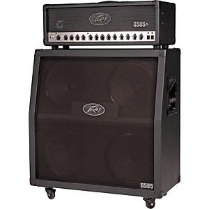 Peavey 6505+ 120 Watt Tube Guitar Amp Head and 300 Watt 4x12 Speaker Cabinet Half Stack