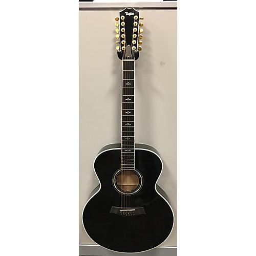 used taylor 655 12 string acoustic guitar black guitar center. Black Bedroom Furniture Sets. Home Design Ideas
